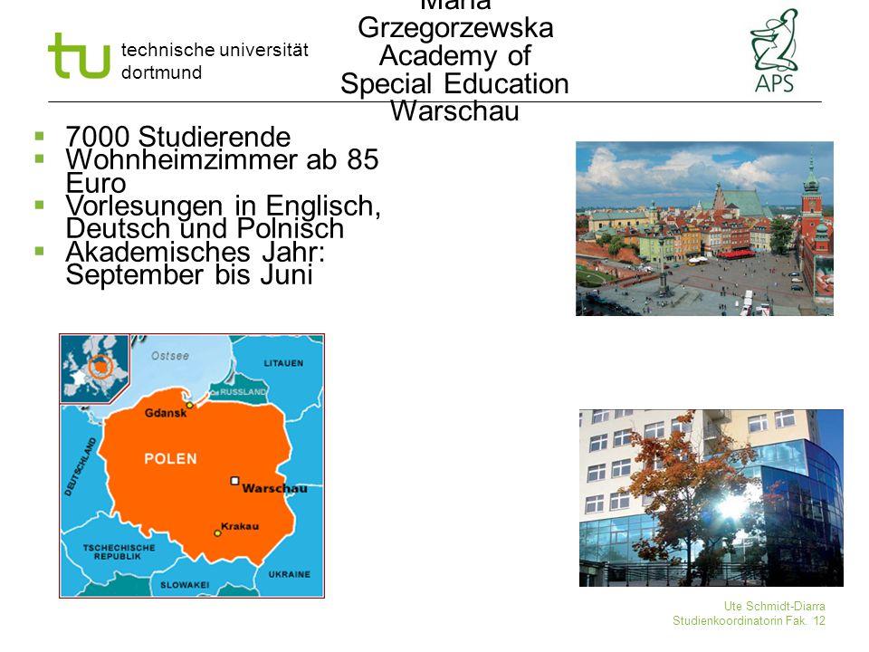 Maria Grzegorzewska Academy of Special Education Warschau