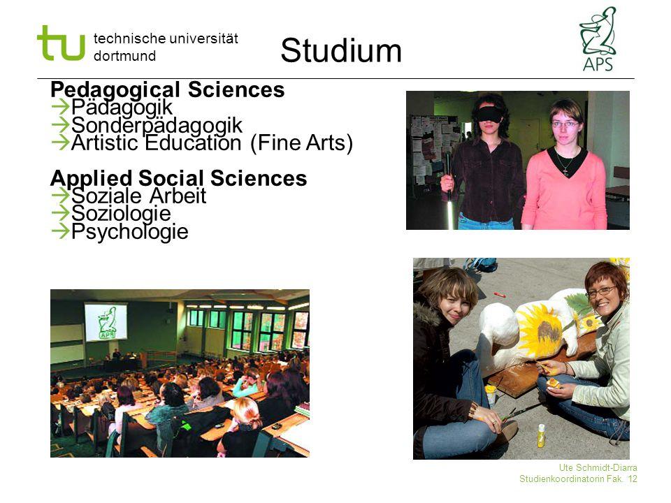 Studium Pedagogical Sciences Pädagogik Sonderpädagogik