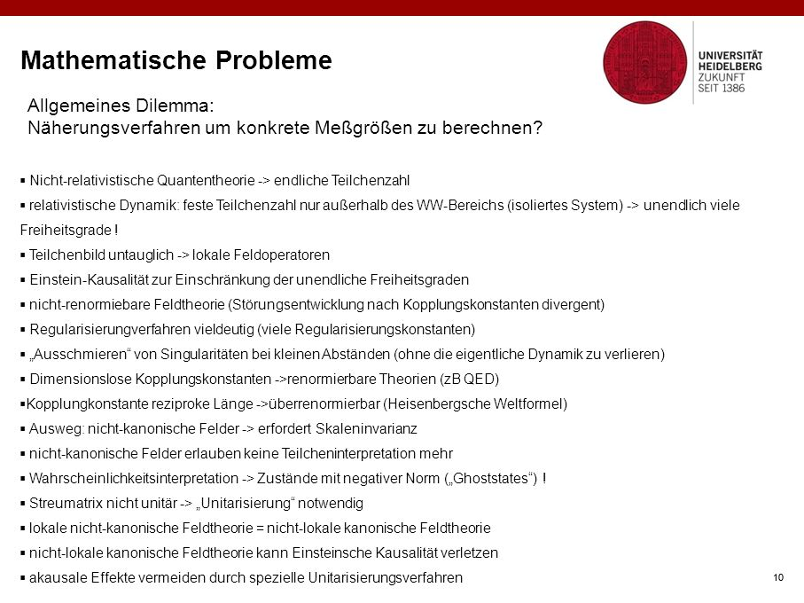 Mathematische Probleme
