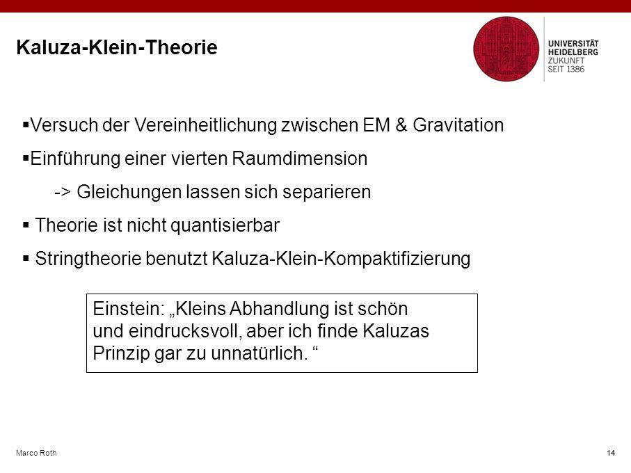 Kaluza-Klein-Theorie