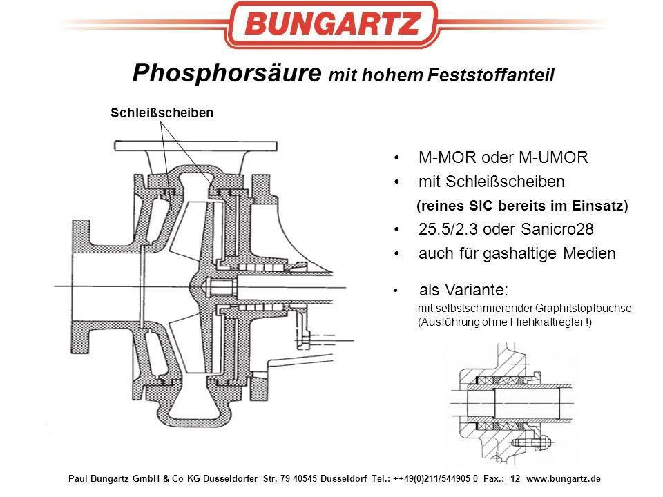 Phosphorsäure mit hohem Feststoffanteil