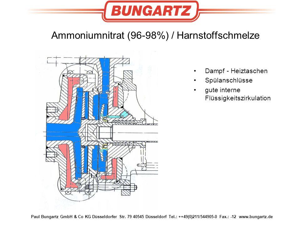 Ammoniumnitrat (96-98%) / Harnstoffschmelze