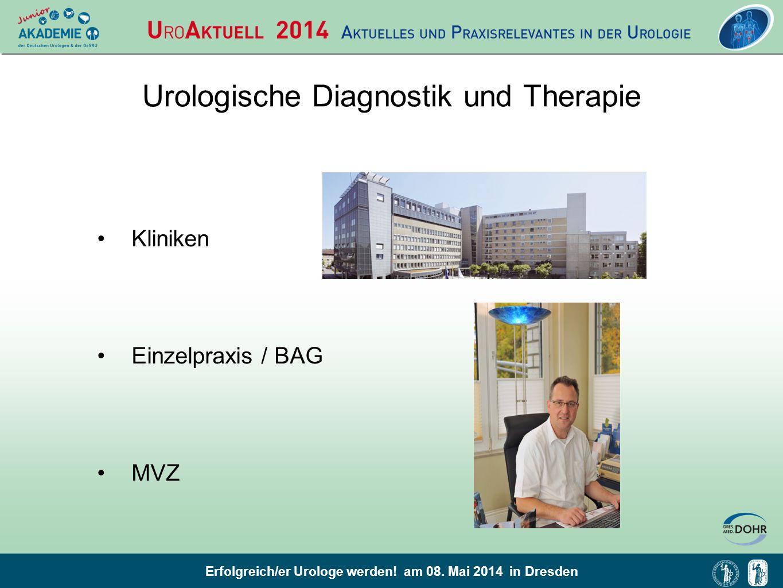 Urologische Diagnostik und Therapie