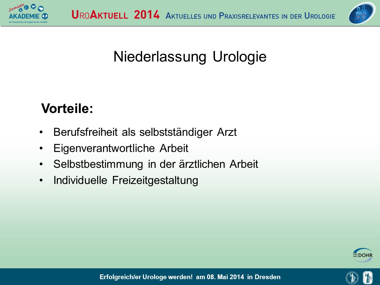 Niederlassung Urologie