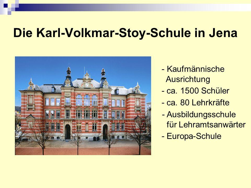 Die Karl-Volkmar-Stoy-Schule in Jena