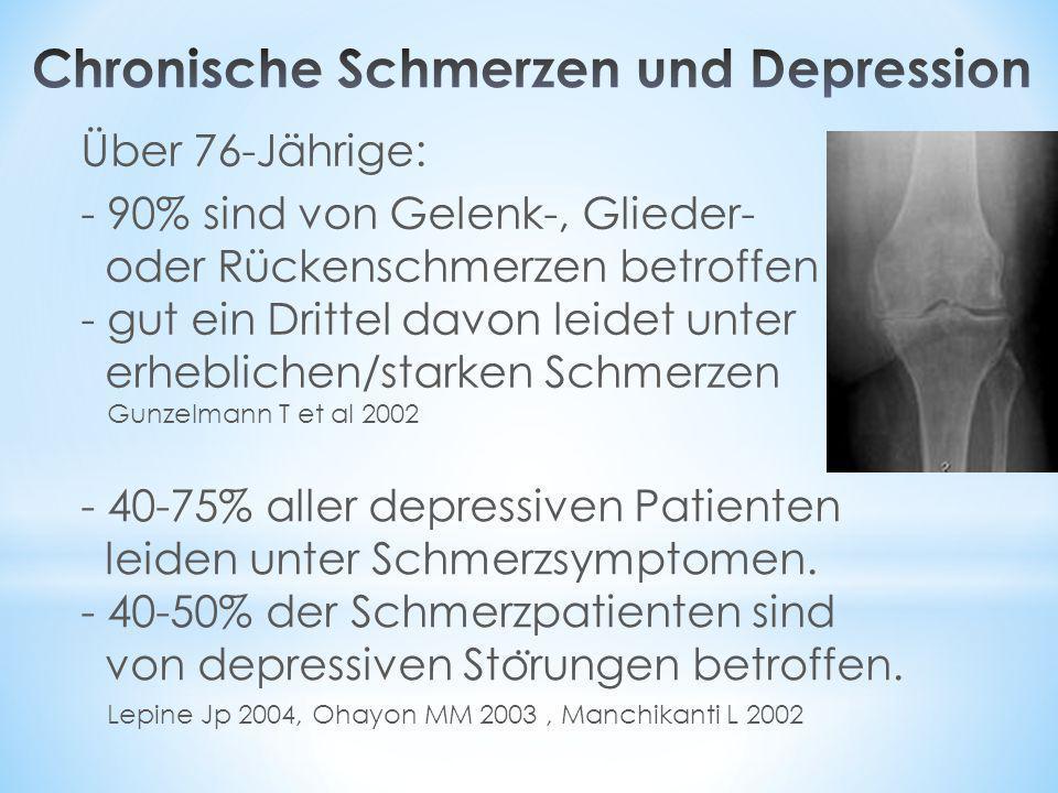 Chronische Schmerzen und Depression
