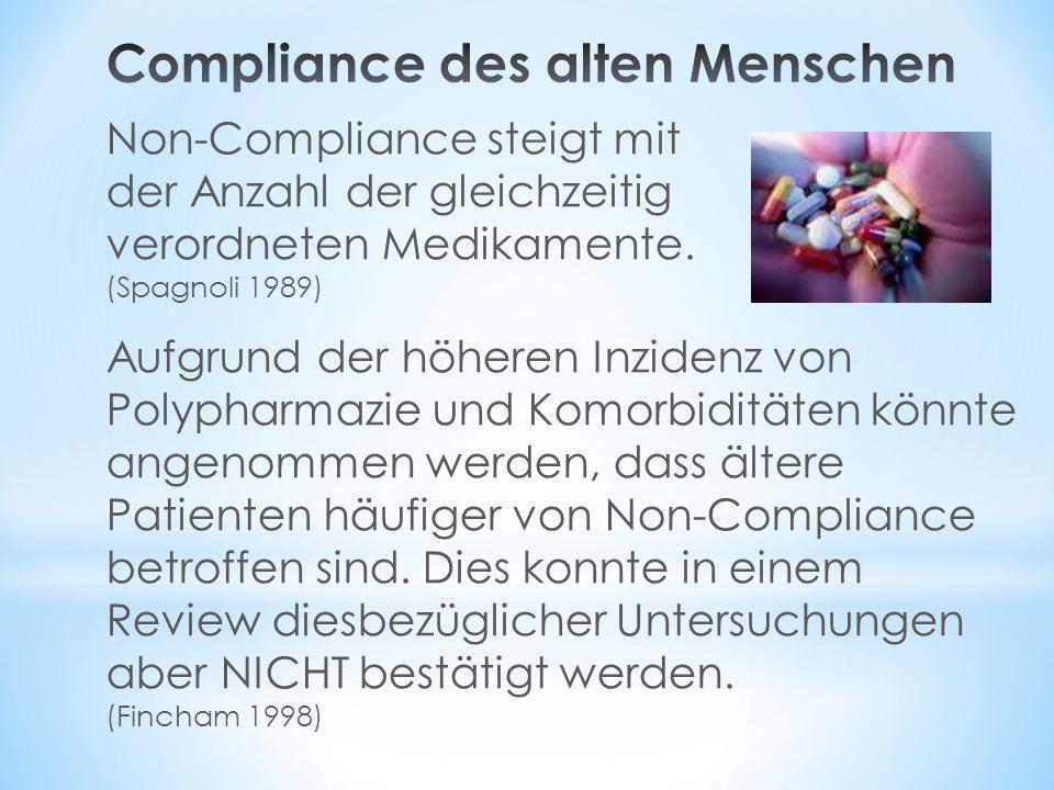 Compliance des alten Menschen