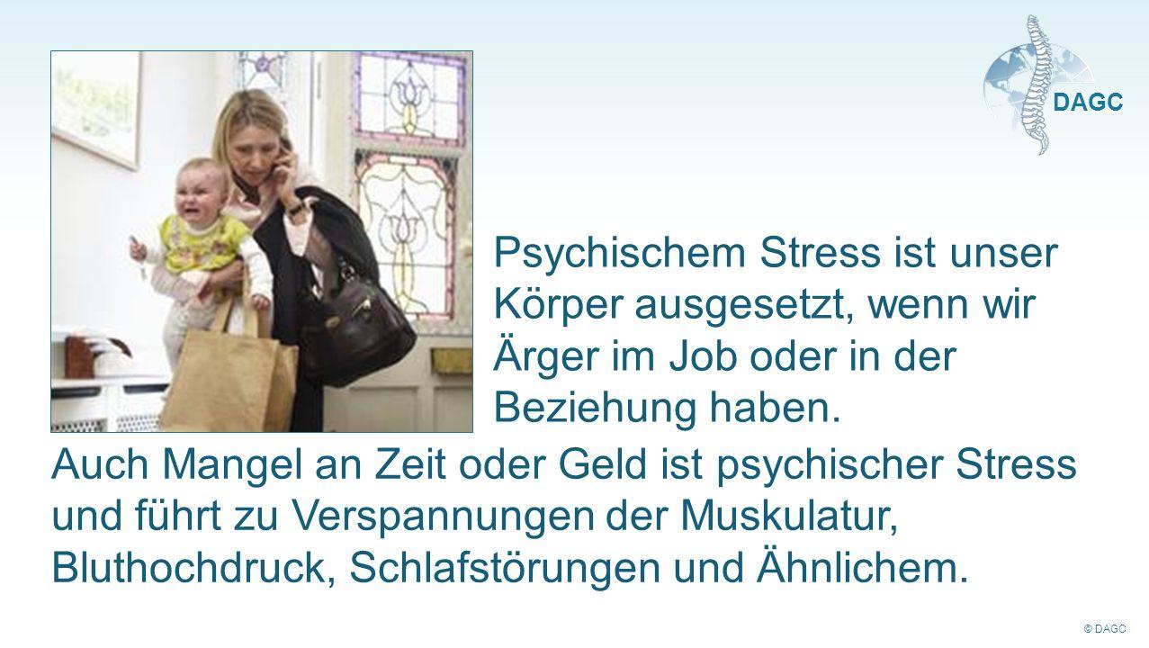 Psychischem Stress ist unser Körper ausgesetzt, wenn wir Ärger im Job oder in der Beziehung haben.