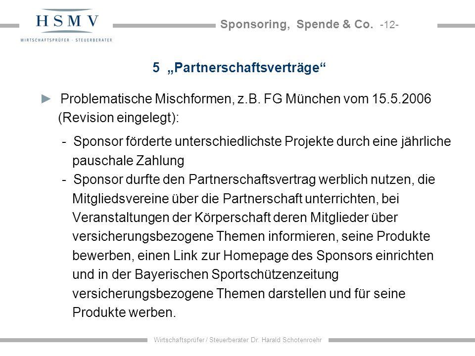 """5 """"Partnerschaftsverträge"""
