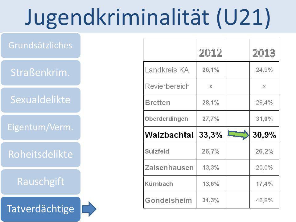 Jugendkriminalität (U21)