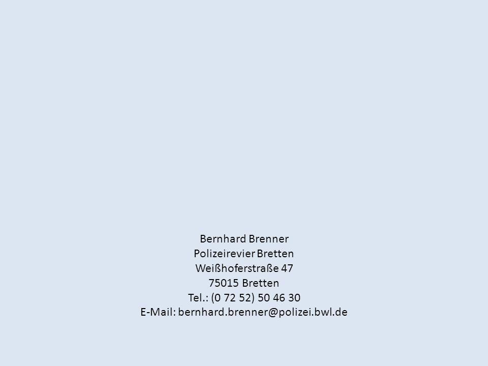 Polizeirevier Bretten Weißhoferstraße 47 75015 Bretten