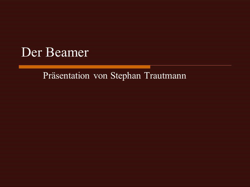 Präsentation von Stephan Trautmann