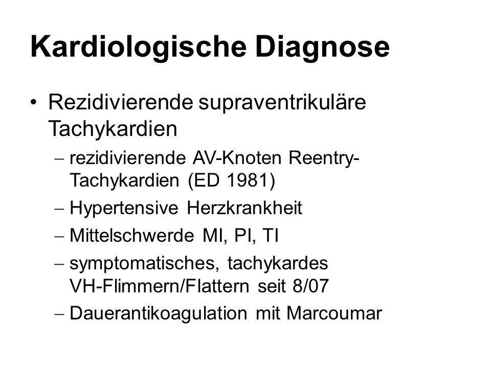 Kardiologische Diagnose
