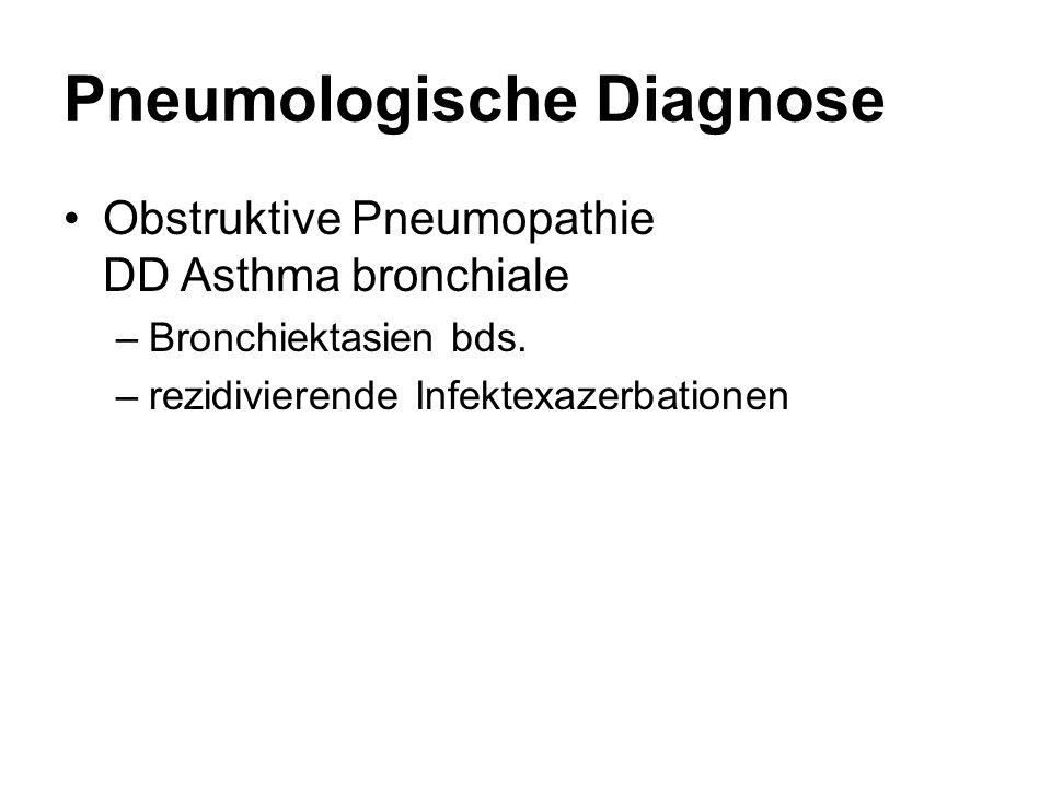Pneumologische Diagnose