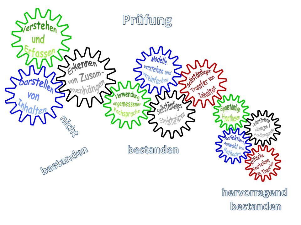 Prüfung Verstehen und Erfassen Modelle verstehen und vereinfachen