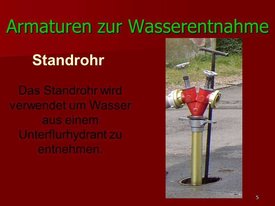 Armaturen zur Wasserentnahme