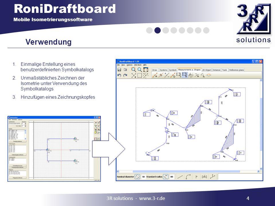 Verwendung 3R solutions ∙ www.3-r.de