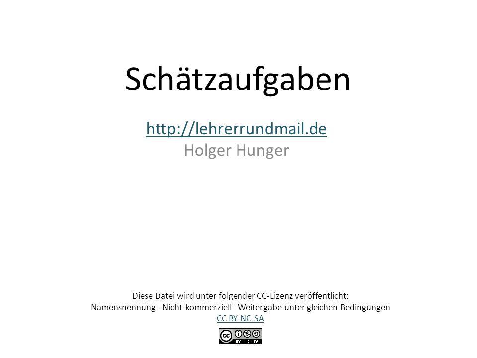 http://lehrerrundmail.de Holger Hunger