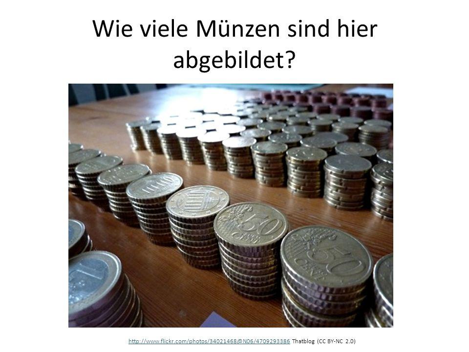 Wie viele Münzen sind hier abgebildet