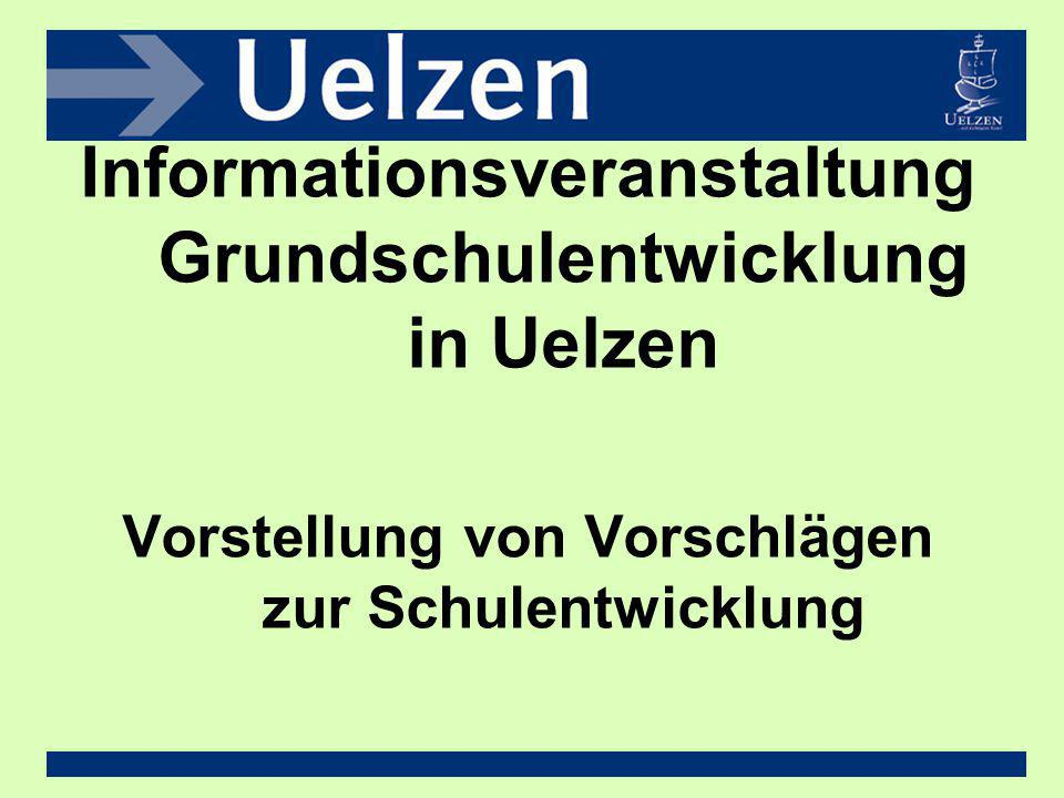 Informationsveranstaltung Grundschulentwicklung in Uelzen