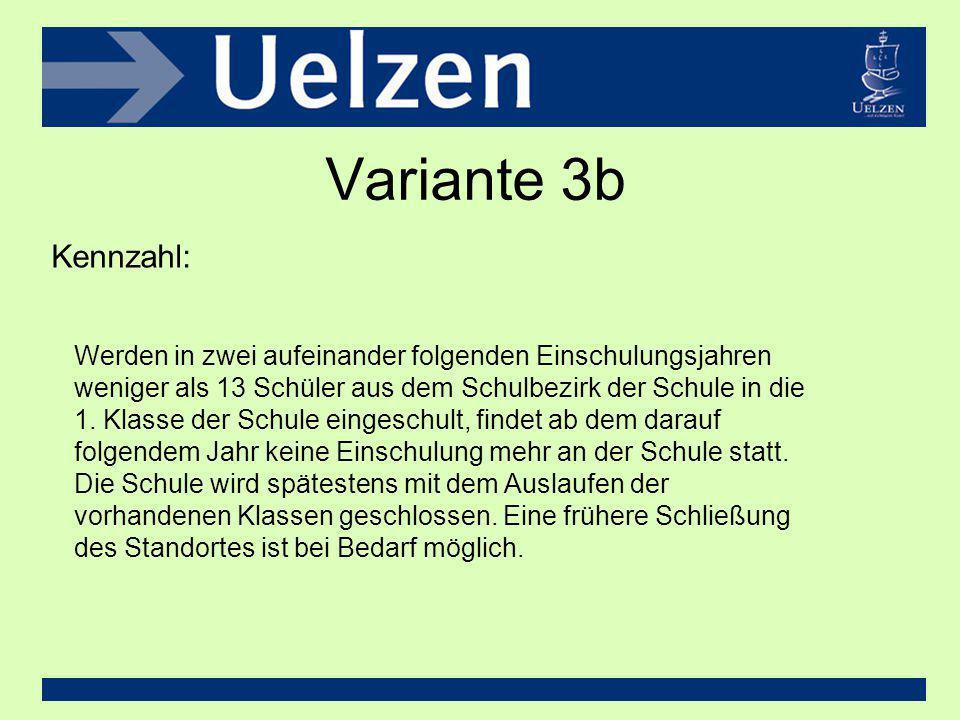 Variante 3b Kennzahl: