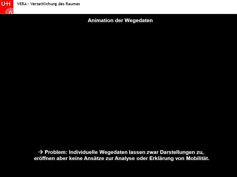 Animation der Wegedaten