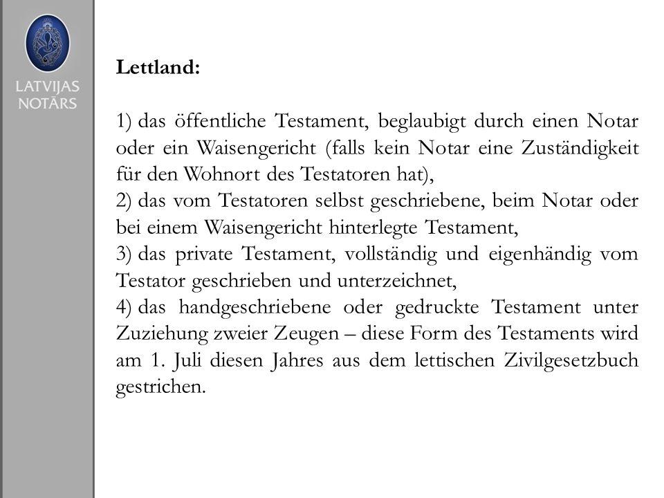Lettland: