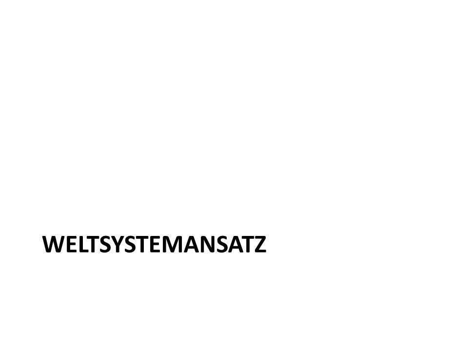 Weltsystemansatz