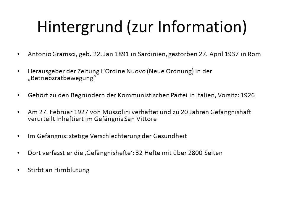 Hintergrund (zur Information)