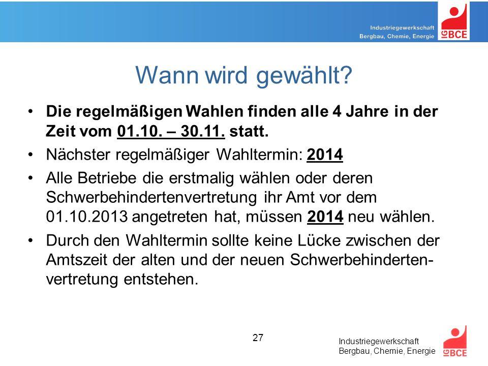 Wann wird gewählt Die regelmäßigen Wahlen finden alle 4 Jahre in der Zeit vom 01.10. – 30.11. statt.