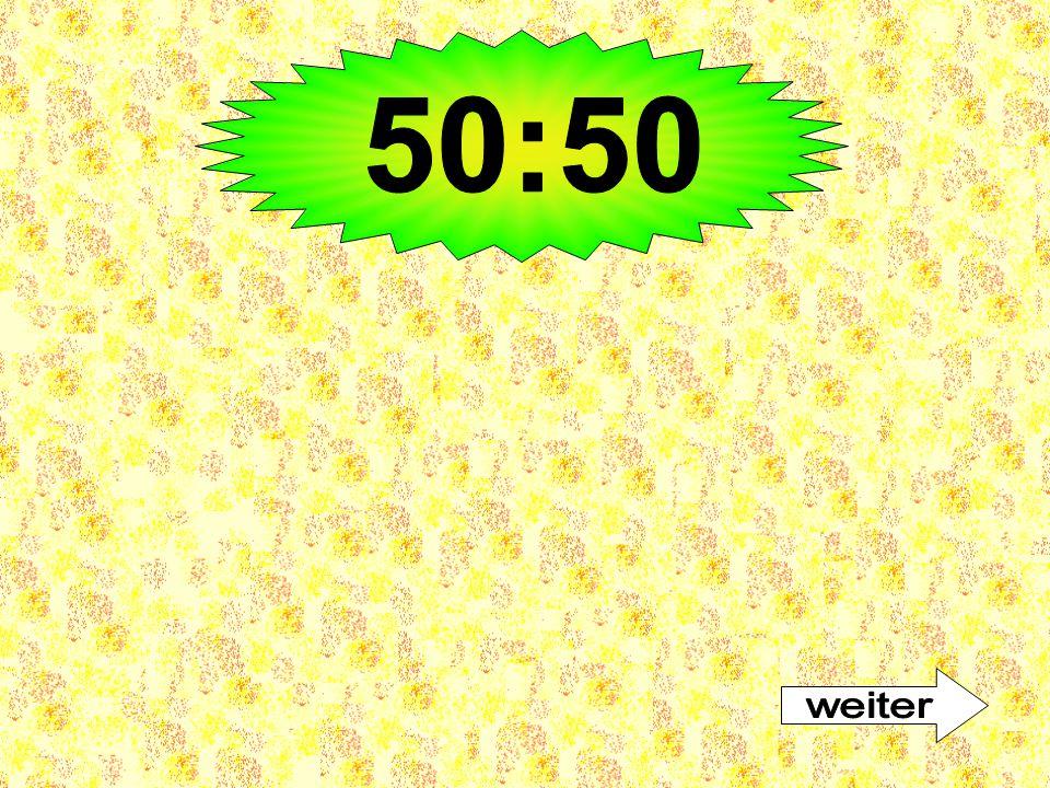 50:50 weiter