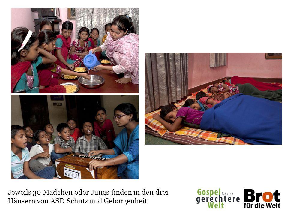 Jeweils 30 Mädchen oder Jungs finden in den drei Häusern von ASD Schutz und Geborgenheit.