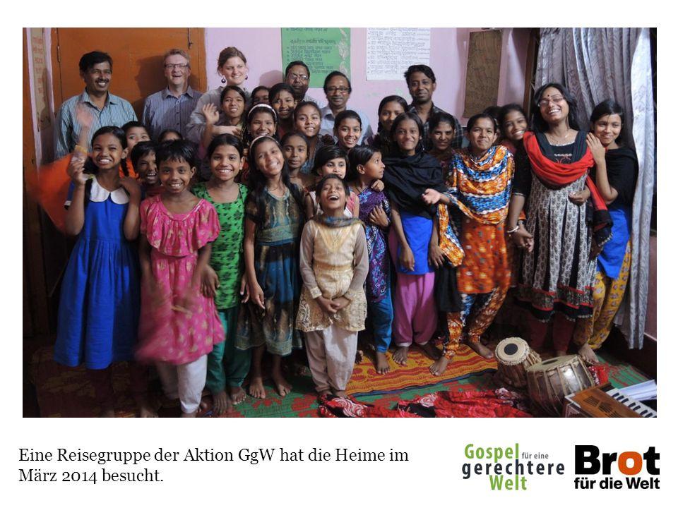 Eine Reisegruppe der Aktion GgW hat die Heime im März 2014 besucht.