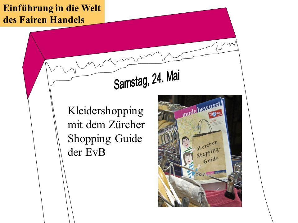 Kleidershopping mit dem Zürcher Shopping Guide der EvB