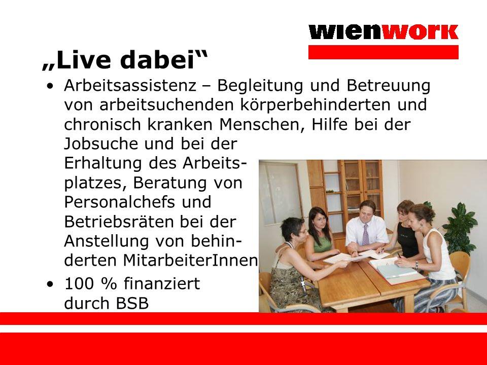 """Live dabei"