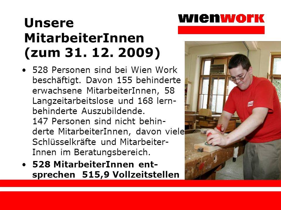 Unsere MitarbeiterInnen (zum 31. 12. 2009)