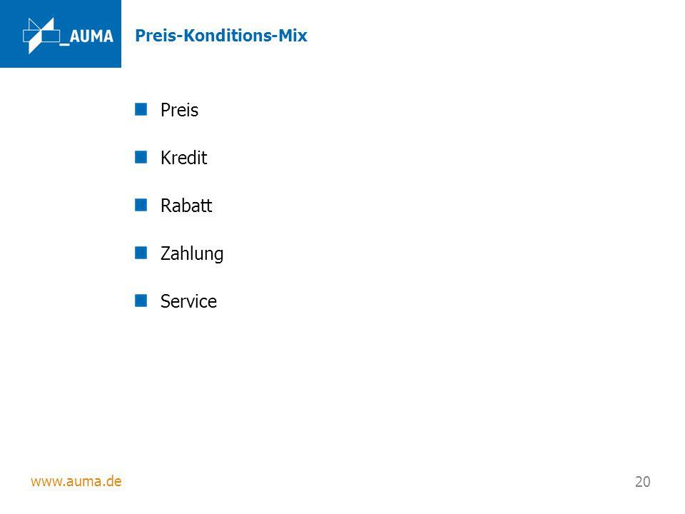 Preis-Konditions-Mix