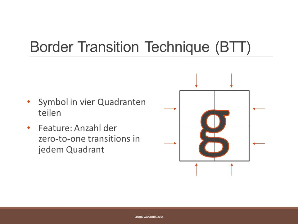 Border Transition Technique (BTT)
