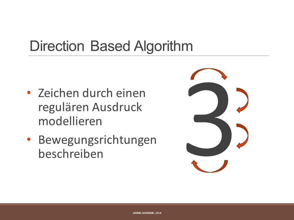 Direction Based Algorithm