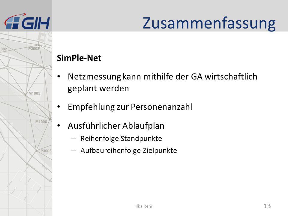 Zusammenfassung SimPle-Net