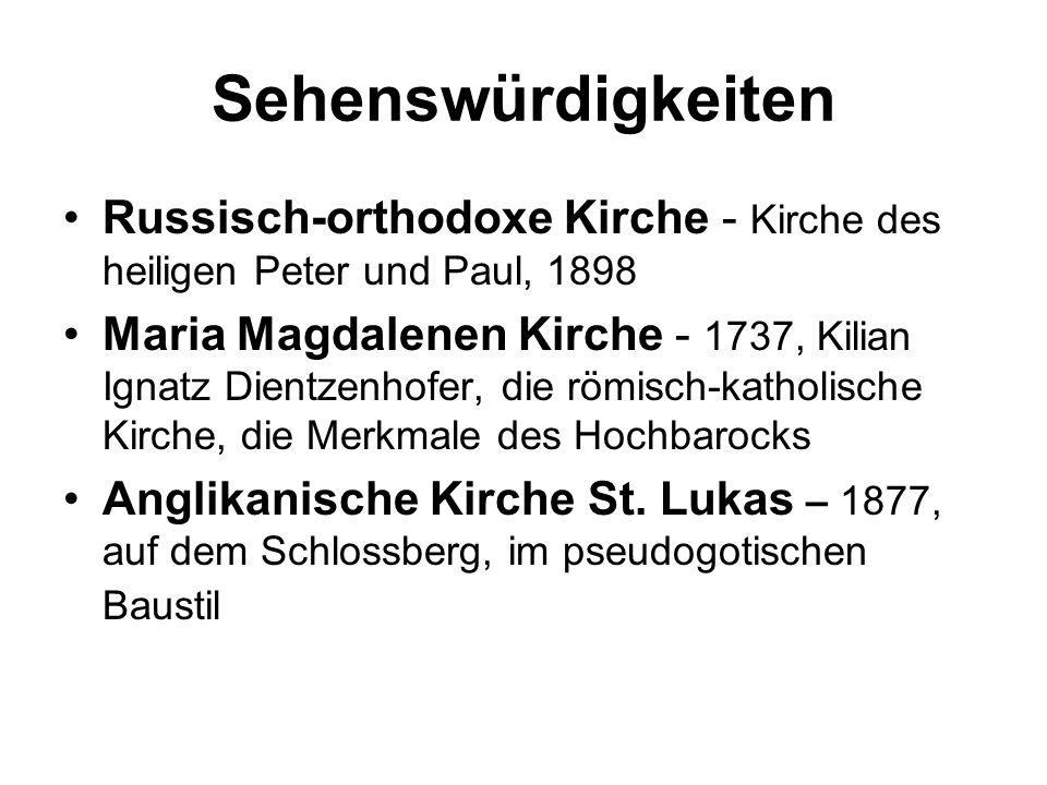 Sehenswürdigkeiten Russisch-orthodoxe Kirche - Kirche des heiligen Peter und Paul, 1898.