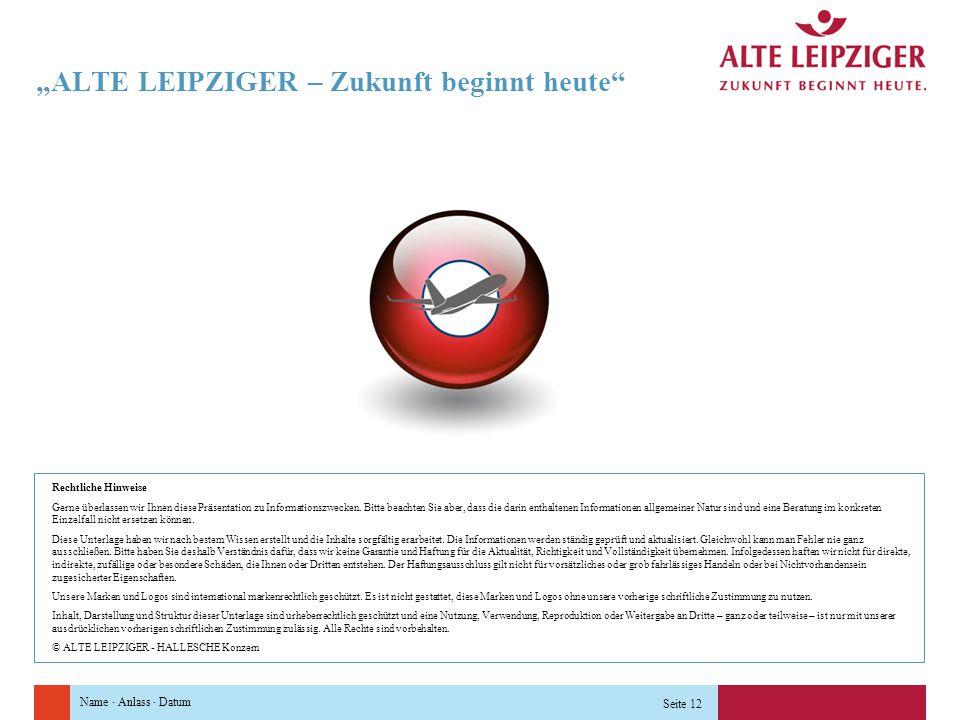 """""""ALTE LEIPZIGER – Zukunft beginnt heute"""