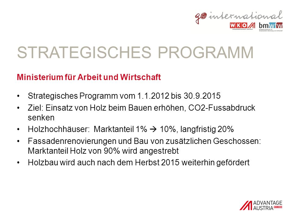 Strategisches Programm