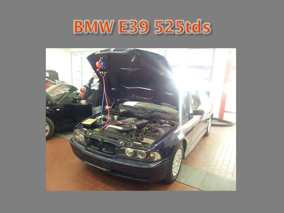 BMW E39 525tds Technische Daten der Klimaanlage: