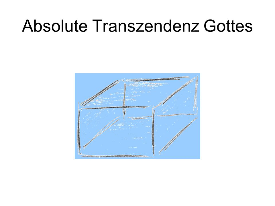 Absolute Transzendenz Gottes