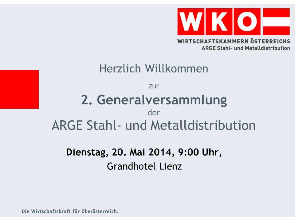Dienstag, 20. Mai 2014, 9:00 Uhr, Grandhotel Lienz