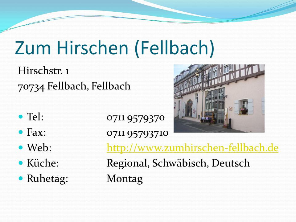 Zum Hirschen (Fellbach)