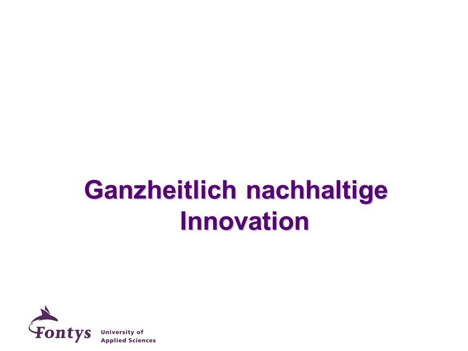 Ganzheitlich nachhaltige Innovation