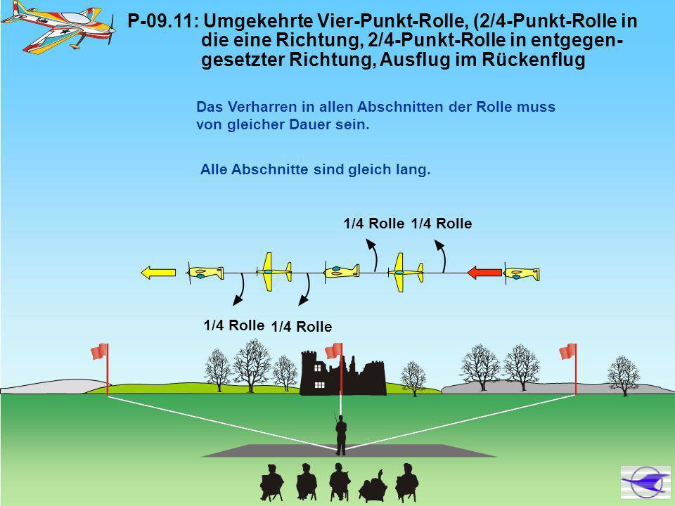 P-09. 11: Umgekehrte Vier-Punkt-Rolle, (2/4-Punkt-Rolle in