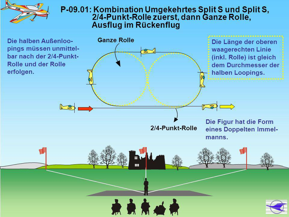 P-09. 01: Kombination Umgekehrtes Split S und Split S,
